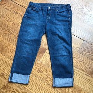 GAP Premium Straight Crop Jean